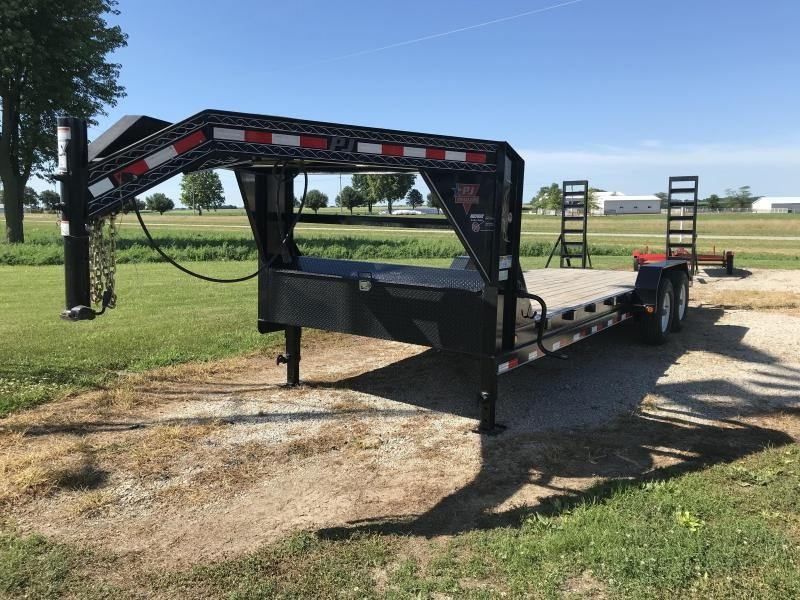 2014 PJ Trailers Car Hauler Equipment Trailer