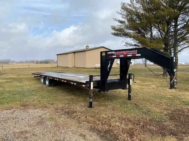2016 Trailerman Trailers Inc. Hired Hand Hydraulic Dove Equipment Trailer