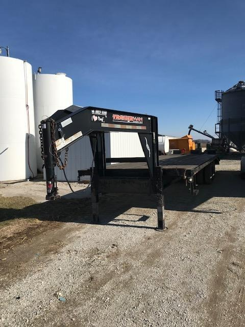 2008 Trailerman Trailers Inc. Hired Hand Equipment Trailer