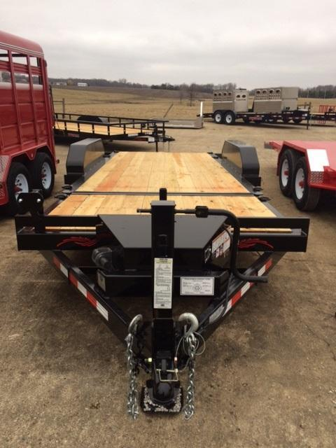 2021 Trailerman Trailers Inc. Custion Tilt Equipment Trailer