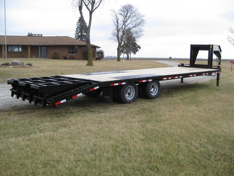2021 Trailerman Trailers Inc. Hired Hand 8.5 X (25+5) Equipment Trailer