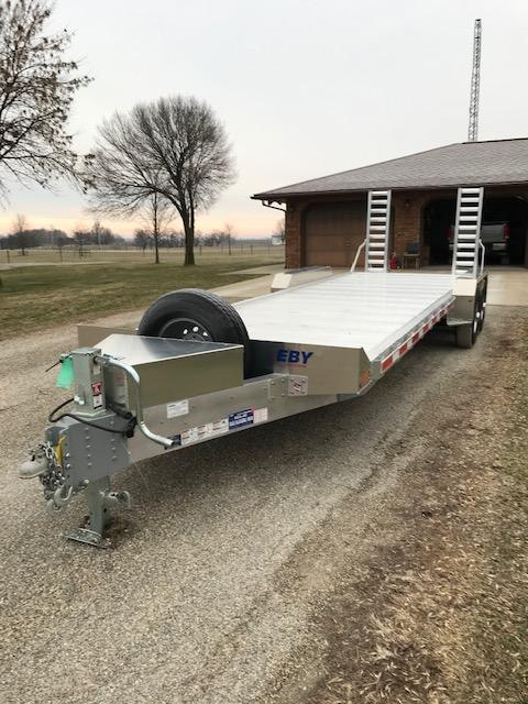 2021 EBY Low Profile Equipment Trailer