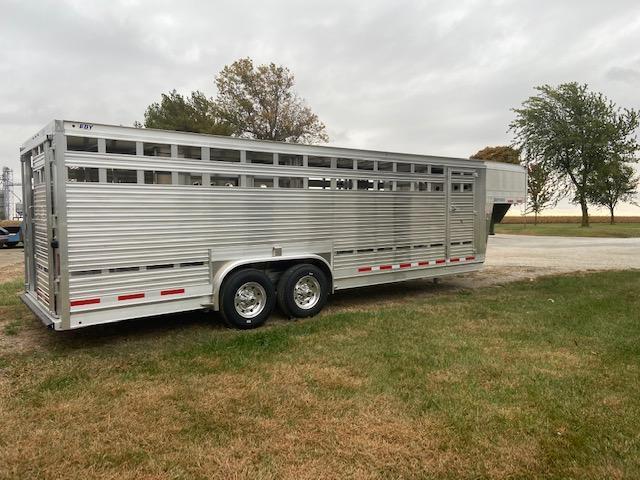 2021 EBY Ruff Neck Livestock Trailer