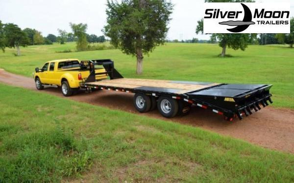 2021 Big Tex Trailers 22GN-25+5MR Gooseneck Flatbed Trailer 23.9K