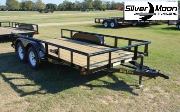 2021 Big Tex Trailers 70PI-16' Utility Trailer