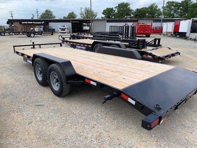 """2020 Sure-Trac 83"""" x 20' 10K Wood Deck Car Hauler"""