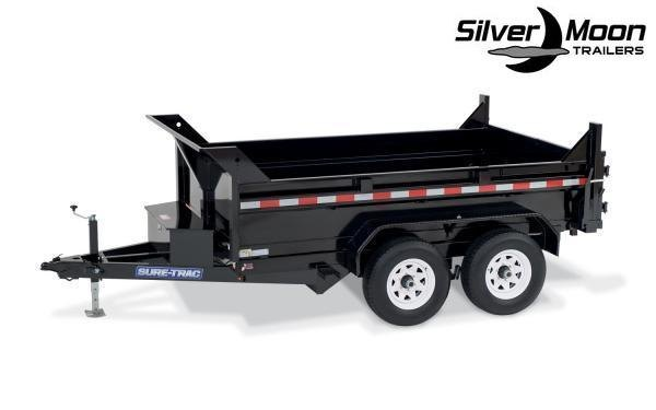 "2021 Sure-Trac 72"" x 12' 10K SD Low Profile Dump Trailer"