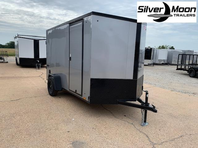 2021 Pace American 6x12 Silver/Blackout Enclosed Cargo Trailer For Sale