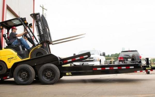 2021 Big Tex Trailers 16TL 22' Super Duty Tilt Equipment Trailer 17.5K