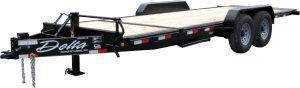 2021 Delta 14K 20' Tilt Equipment Trailer