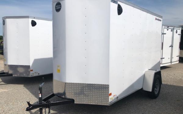 2021 Wells Cargo FastTrac 6 x 12 Single Axle Cargo Trailer