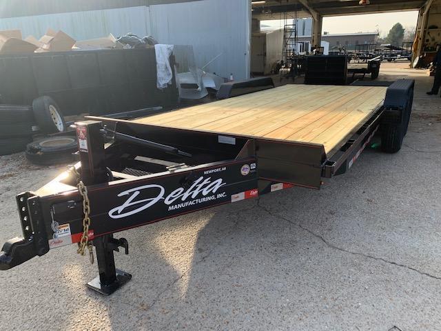 2020 Delta Manufacturing 27EB 20' 14k Equipment Trailer