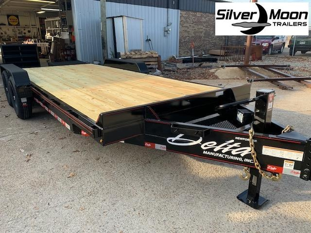 2021 Delta Manufacturing 27EB 20' 14k Equipment Trailer