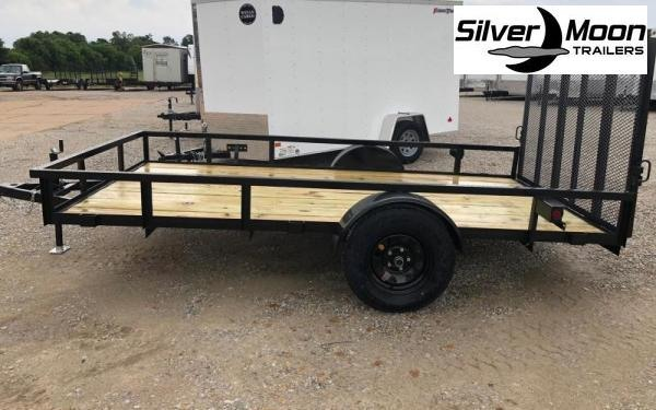 2020 Wicked 6 x 12 Single Axle 3K Utility Trailer w/ Gate