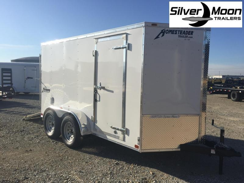 2021 Homesteader 6x12 Tandem Cargo Trailer For Sale