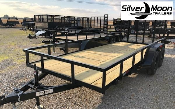 "2021 Wicked 76"" x 14 7K Utility Trailer"