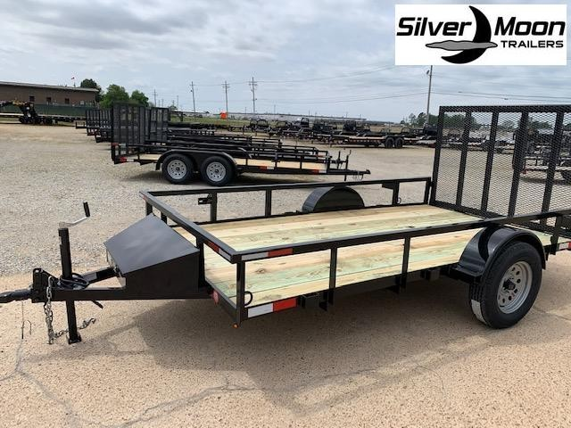 2021 Wicked 6 x 12 Single Axle 3K Utility Trailer w/ Gate and Toolbox
