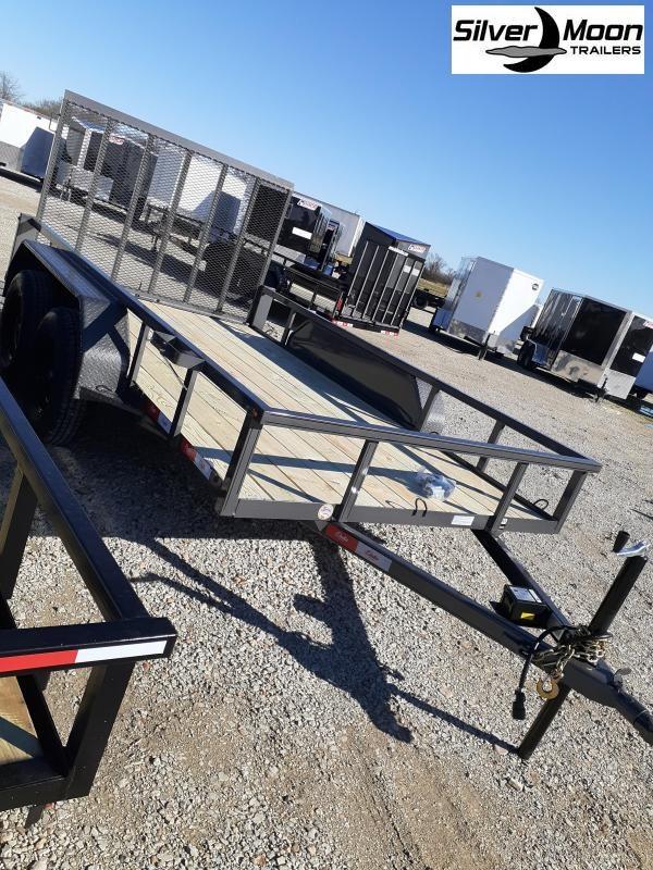 "2021 Delta Manufacturing 235U-12 82""x12' Utility Trailer"