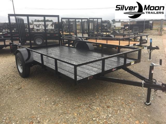 New 2020 Wicked UT7612SA-E Black ATV Trailer for Sale