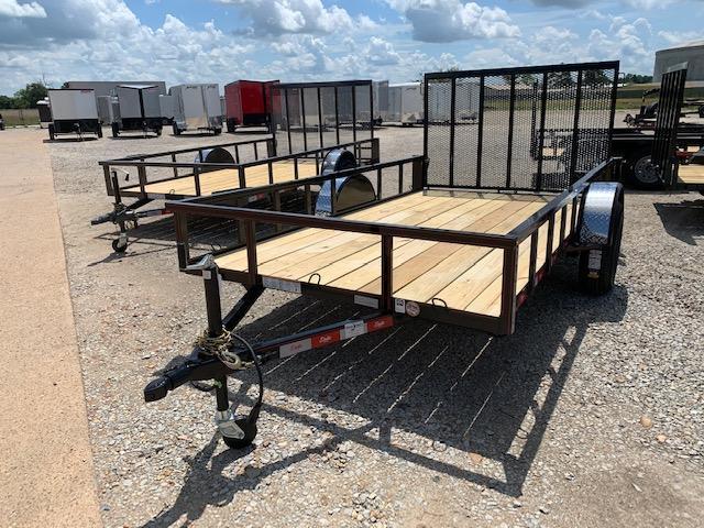 """New 2020 Delta Manufacturing 135U 76""""x12' Gray ATV Trailer"""