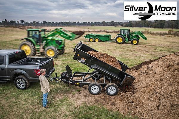 2021 Big Tex Trailers 70SR 5 x 10 7K Dump Trailer