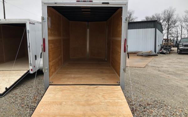 2020 Homesteader Intrepid OHV 7 x 16 TA Enclosed Custom Cargo Trailer