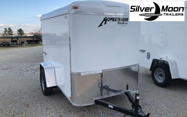 2021 Homesteader 5 x 8 SA Enclosed Cargo Trailer