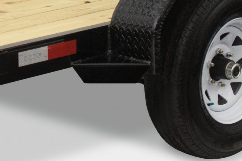 2020 Sure-Trac 7 X 18 7K C-Channel Car Hauler Car / Racing Trailer