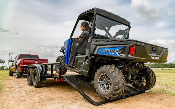 """20212 Big Tex Trailers 60PI 77"""" x 16 Utility Trailer"""