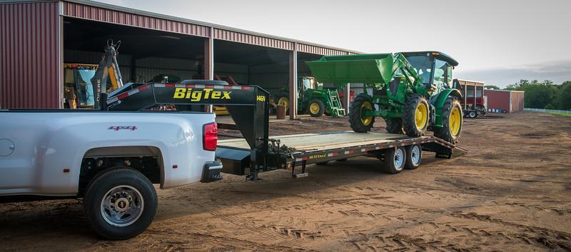 2021 Big Tex Trailers 14GN-20+5 14K Gooseneck Flatbed