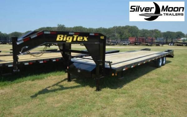 2021 Big Tex Trailers 14GN-20+5 14K Gooseneck Flatbed