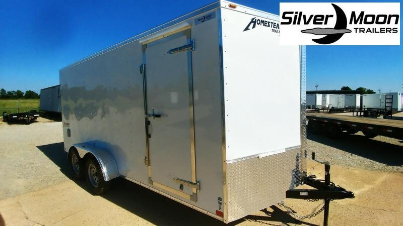 2021 Homesteader 7 x 16 Tandem Cargo Trailer For Sale