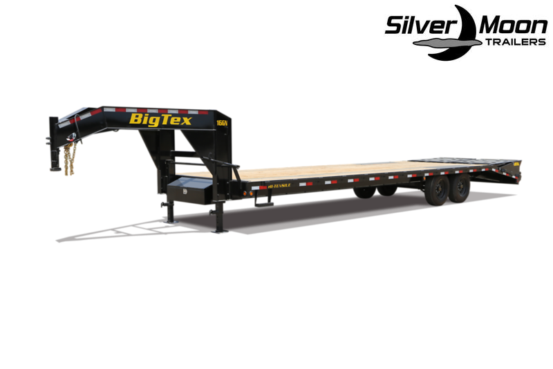 2021 Big Tex Trailers 16GN-22+5 Flatbed Trailer