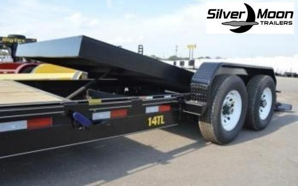 "2021 Big Tex Trailers 14TL 83"" x 22 Tilt Bed Equipment Trailer 16+6"