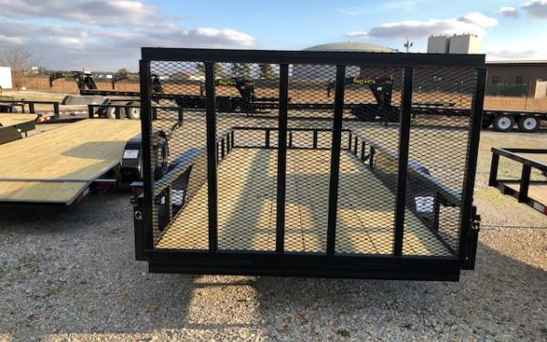 "2020 Wicked 76"" x 16' 7K Utility Trailer"