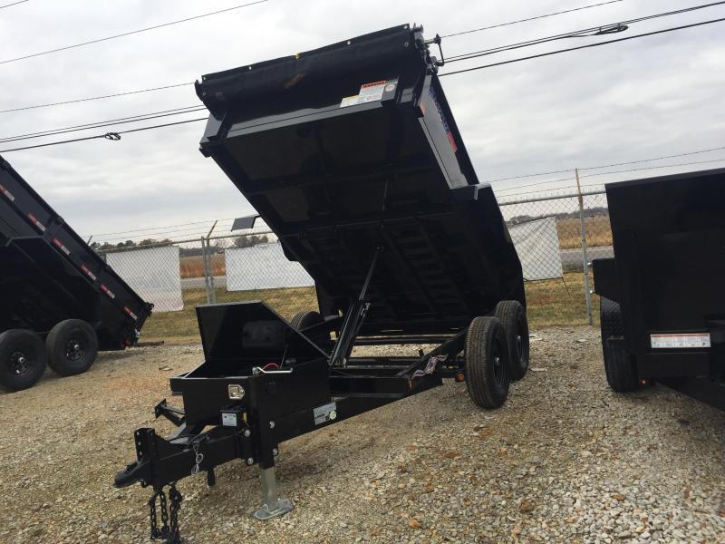 """2021 Liberty LD10K72LP - 10K Dump Low Profile 72"""" Wide Deck Dump Trailer"""