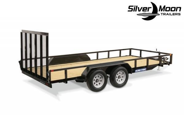 "2021 Sure-Trac 83"" x 20' 7K Tandem Axle Tube Top Utility Trailer"