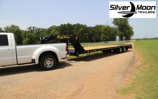 2021 Big Tex Trailers 22GN-30+5MR Equipment Trailer 23.9K