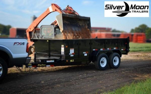 "2020 Big Tex Trailers 14LX 83""x14' 14K Dump Trailer"
