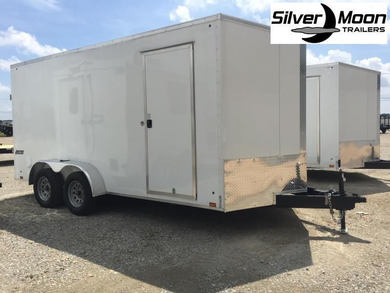 2022 Pace American 7x16 V-Nosed Enclosed Cargo