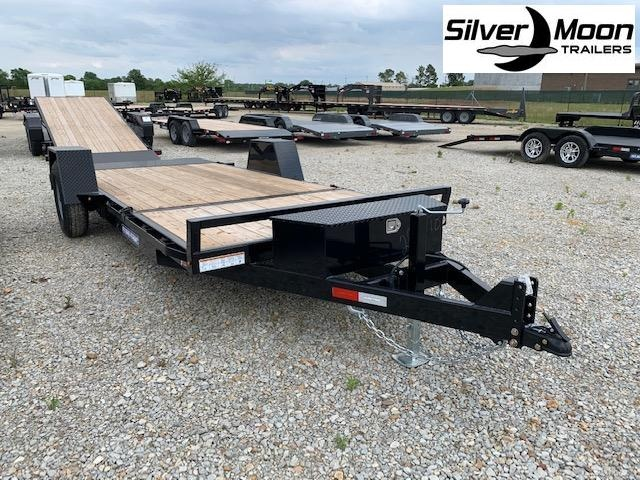 2020 Sure-Trac 12' + 4 7K Single Axle Tilt Bed Equipment Trailer