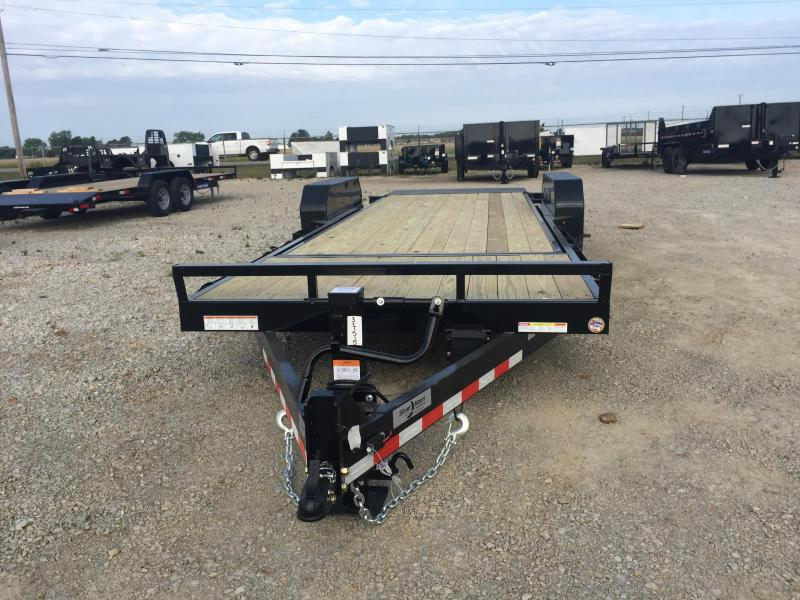 2020 Sure-Trac 18+4 14K Tilt Bed Equipment Trailer