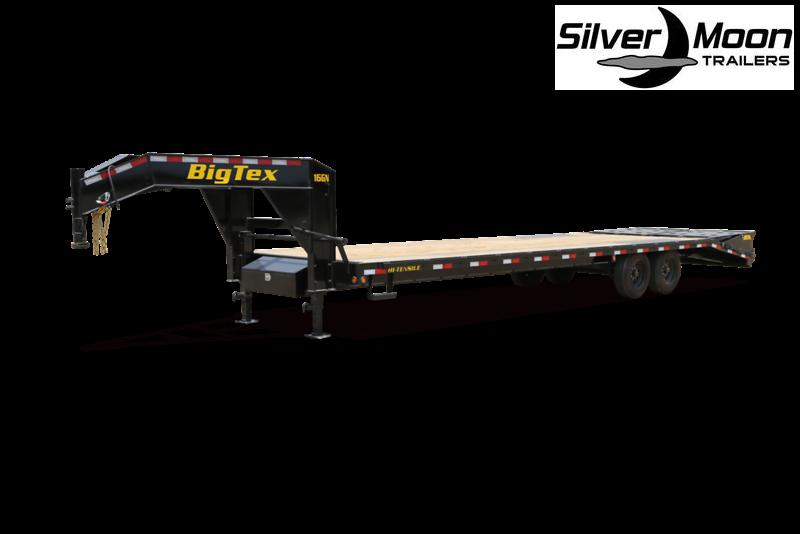 2021 Big Tex Trailers 16GN-25+5 Flatbed Trailer