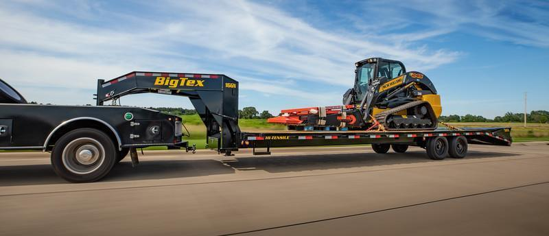 2021 Big Tex Trailers 16GN-25+5 Flatbed Trailer