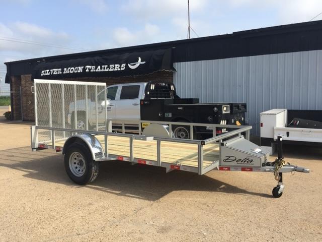 "2020 Delta Manufacturing 135U 76""x12' ATV Trailer For Sale"