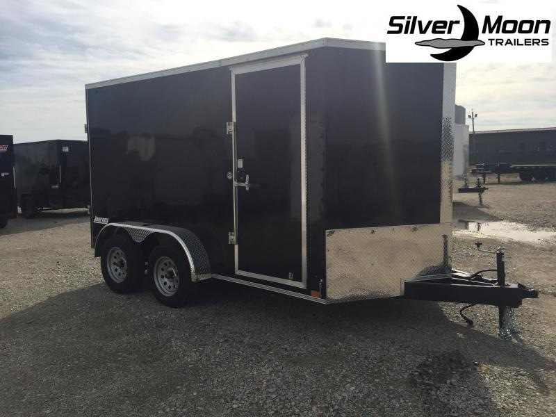 2021 Pace American Journey 7x12 Tandem Axle Enclosed Cargo Trailer