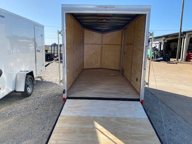2021 Pace American 6x12 Silver Enclosed Cargo Trailer For Sale