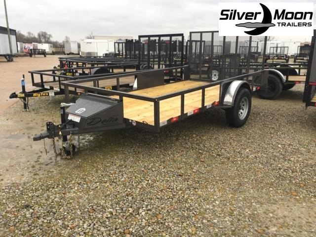 "2021 Delta Manufacturing 135U 76""x12' ATV Trailer For Sale"