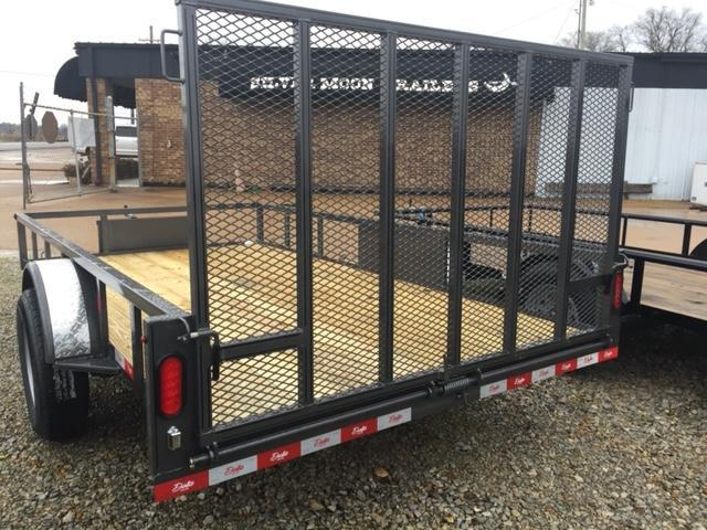 "2021 Delta Manufacturing 135U 76""x12' ATV Trailer For Sale"