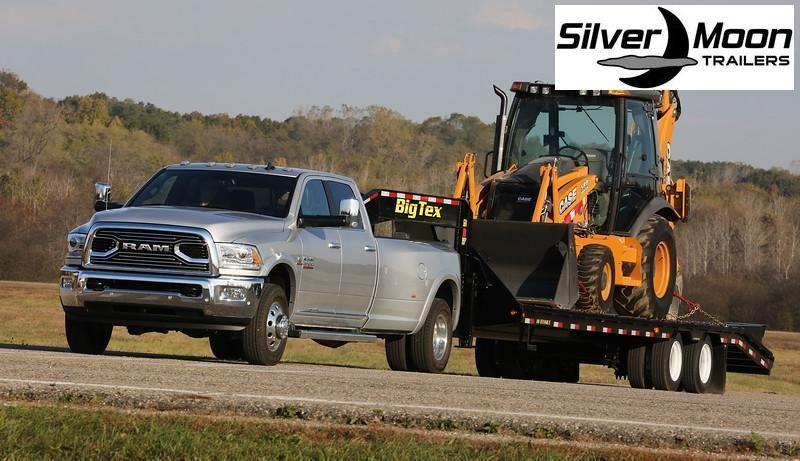 2020 Big Tex Trailers 22GN-20+5MR Equipment Trailer 23.9K